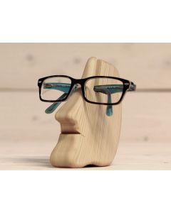"""Brillenhalter aus Holz """"Nase"""""""