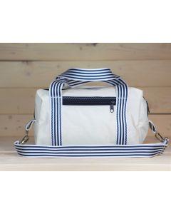 """Sporttasche """"Stexwig"""" weiß-blau"""
