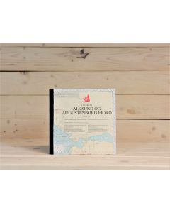Notizbuch Seekarte Quadrat
