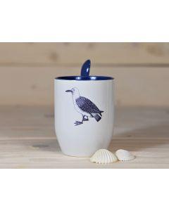 Löffel-Tasse mit Möwe