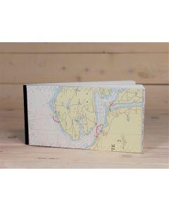 Notizbuch Seekarte groß