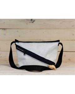 """Handtasche """"Erfde"""" weiß-blau-schwarz"""