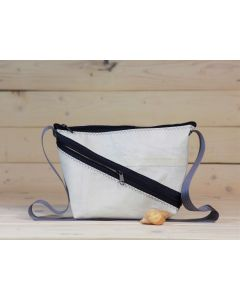 """Handtasche """"Erfde"""" weiß-blau-grau"""