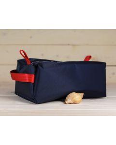 Kulturtasche blau-rot